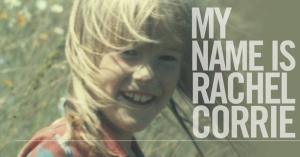 """Θεατρική παράσταση """"Το όνομα μου είναι Rachel Corrie"""""""